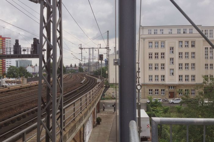 Cityscapes Amazing Amazing View Amazing Architecture Beautiful Beautiful Day Impressive Phenomenal Great Atmosphere Great Nice Railway Vanishing Point EyeEm Best Shots Eye4photography  View Look Taking Photos Need For Speed Perfect Golden Classic Fantastic Berlin Streetphotography