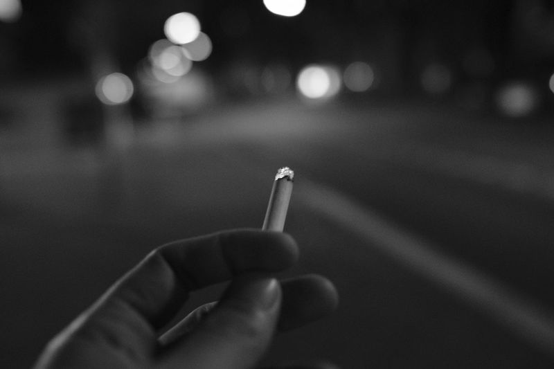 Cigarette  Human Hand Blackandwhite Black And White Light And Shadow Blackandwhite Photography The Week Of Eyeem The Week On Eyem Authentic Moments The Street Photographer - 2016 EyeEm Awards