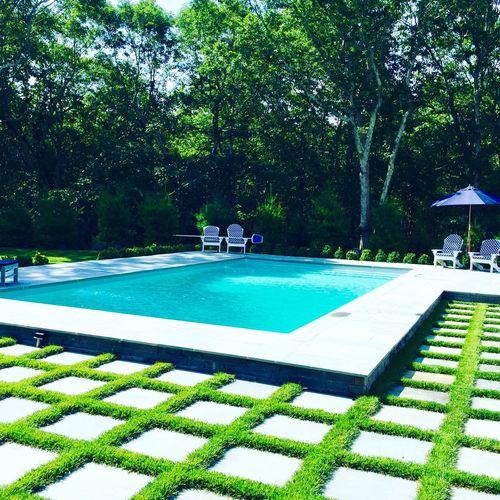 Hamptons Bridgehampton, NY Summer Bridgehampton Poolside