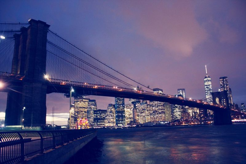 Stunning view NYC NYC Skyline NYC Photography Night Lights Night Building Buildings Skyline Traveling Travel Photography