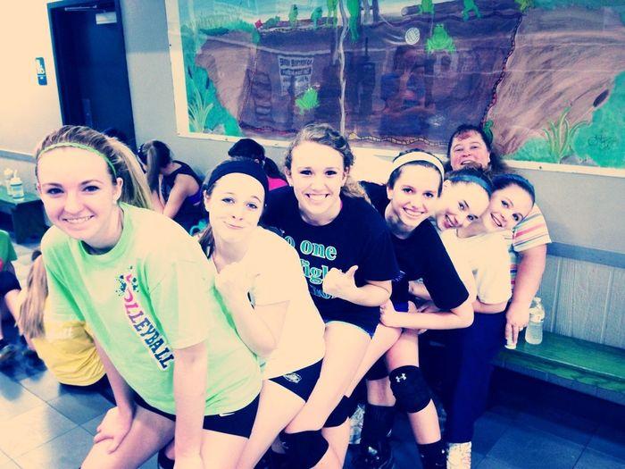 My Volleyball Team, I Love Them