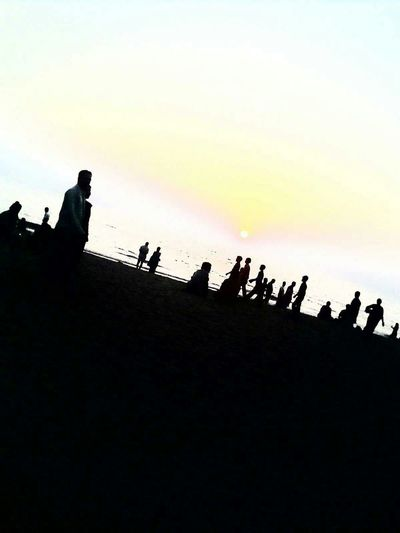 Everyday Joy Kalyan Taking Photo Girgoan Sunset