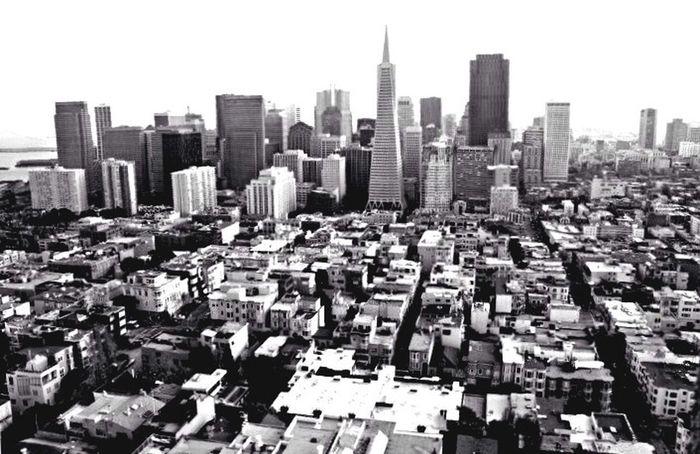 Architecture Skyline City San Francisco