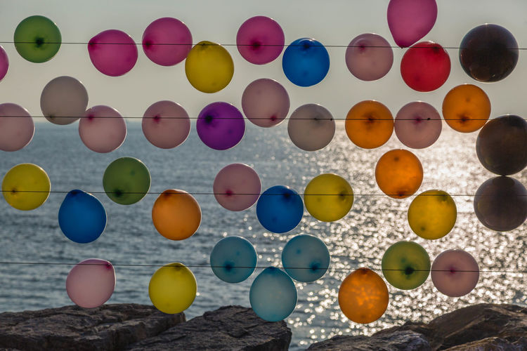 Balonnen Bosporus Holiday Istanbul Kleuren Reizen Spel Turkije