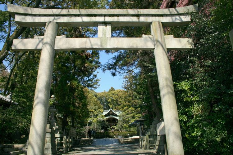 岡崎神社 東天王 Kyoto 京都 Japan Trip 神社 鳥居