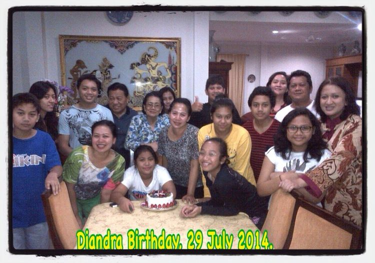 Main Family Diandra Birthday