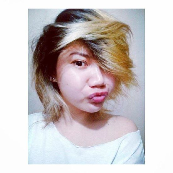 Messy hair, don't care! 😂💁 Day80 100daysofhappinesschallenge