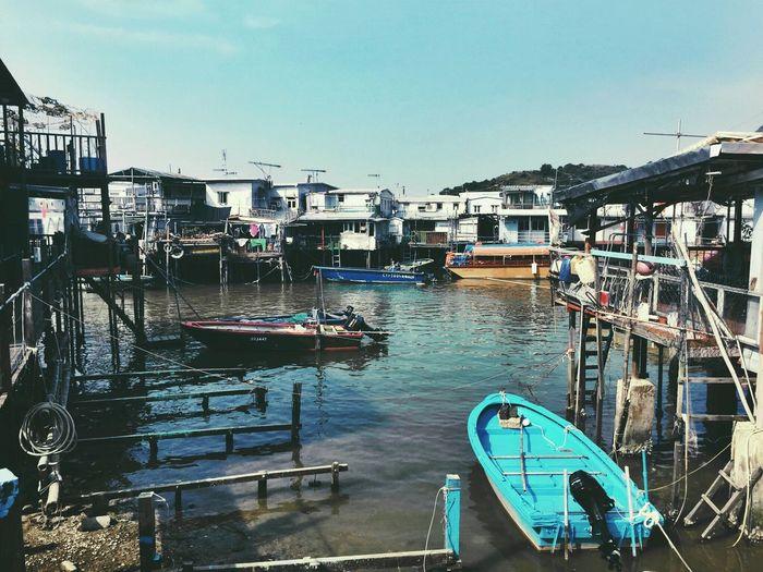 Hong Kong 下一站大澳 香港 Fishing Village Tai O Fishing Pêcher