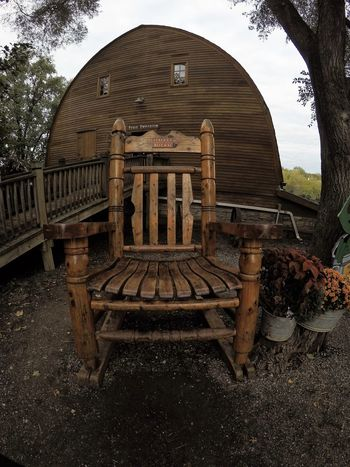 Barn Fall Colors Nebraska October Rocking Chair Rural Tourist Attraction  Architecture Building Exterior Built Structure Countryside Life Day Gopro Handbuilt Handmade Nature No People Outdoors Pumpkin Patch Tourism Tree Vala's Pumpkin Patch Wide Angle Wide Shot Wood - Material Be. Ready.