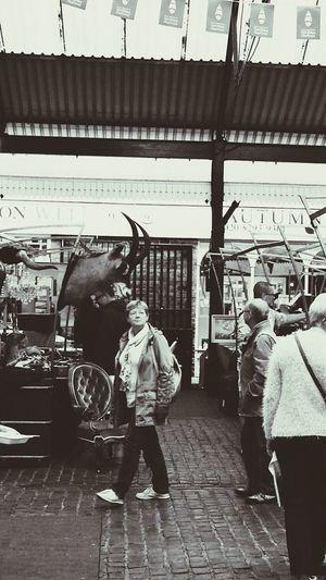 Greenwich Market Blackandwhite Photography Visitor London 2014