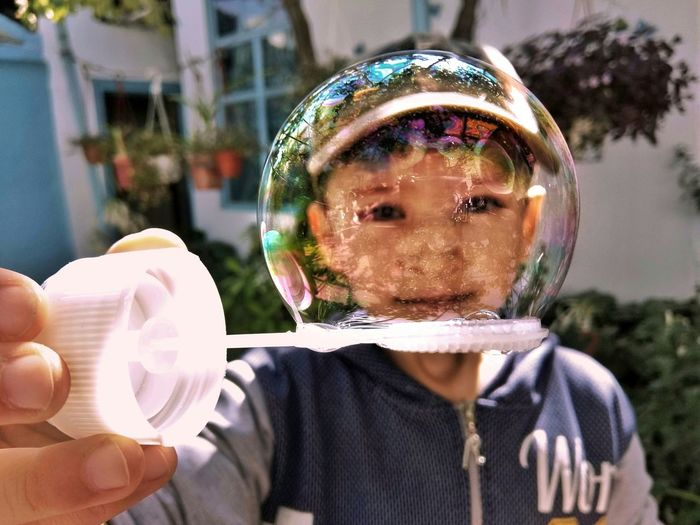 мыльныепузыри космонавт скафандр мальчик ребенок детство Boy Soapbubbles Bubble Spacesuit Armor Cosmonaut #childhood Child Science Headshot Space Front View Futuristic Close-up