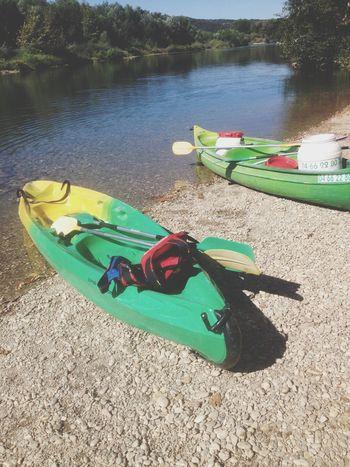 Journée kayak au ?? Kayak Pont Du Gard