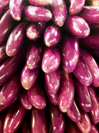 Food Freshness Backgrounds Healthy Eating Food And Drink Close-up No People Indoors  Eggplants Eggplant🍆 Lines And Patterns Ingredient Groceries Market Vegetable Purple HealtyFood Healthy Vegetables