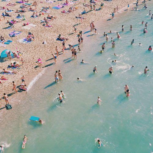 Les baigneurs Beach Biarritz Sun Summer