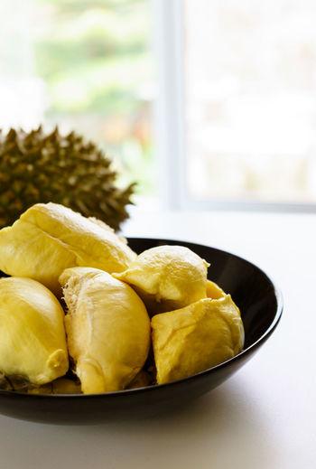 Durian the king of fruit. Asian  Durian Freshness King Yellow Flower Asian Fruit Bowl Durian Fruit Photo Table Thialand Yellow ทุเรียน ทุเรียนหมอนทอง First Eyeem Photo