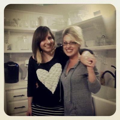 Fun times with my bestie in her new kitchen!