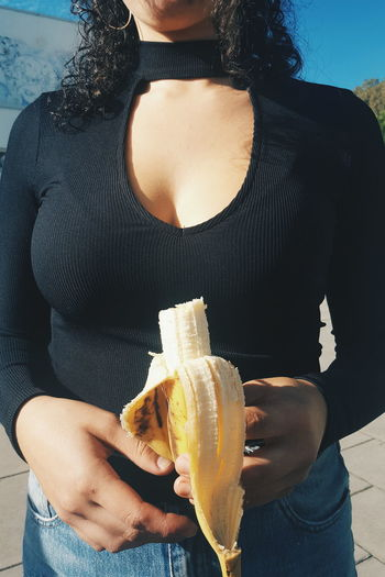 Banana Boobs, Noshame People Beauty Young Adult