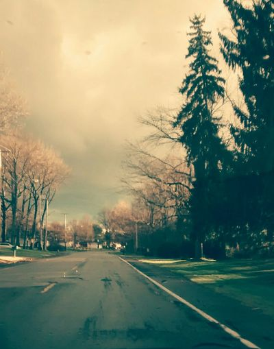 My Best Photo 2015 In The Car On The Road Open Sky Vintage Look Ohio, USA Album Cover