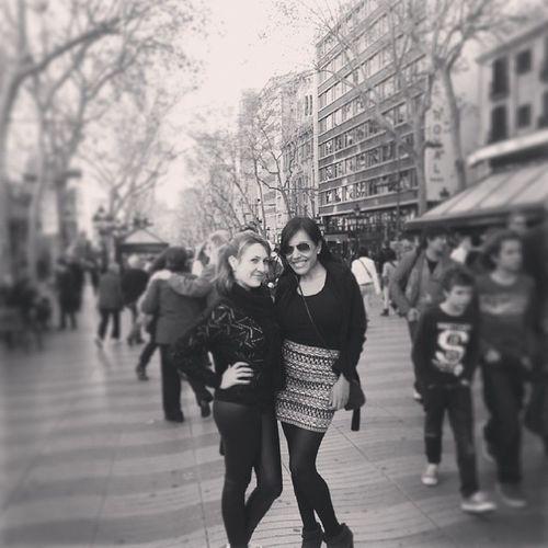 Con mi fau Friends Barcelona Larambla