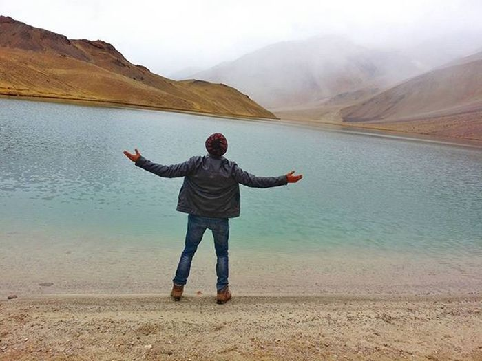 Peace at Chandrataal. Clicked few hours ago dated 24th Oct 15. It was awesome to witness snowfall. Chandrataal HimalayanDrifters Himachalpictures Snowfall Picoftheday Himachal Incredibleindia Highaltitudelake Intagram Instapic Spiti Devbhoomi Himalayas India Indiaphotosociety Adventure Hiking Campingtrip Greatlakes Roadtrip Roadtripping Wintertrekking Winteriscoming