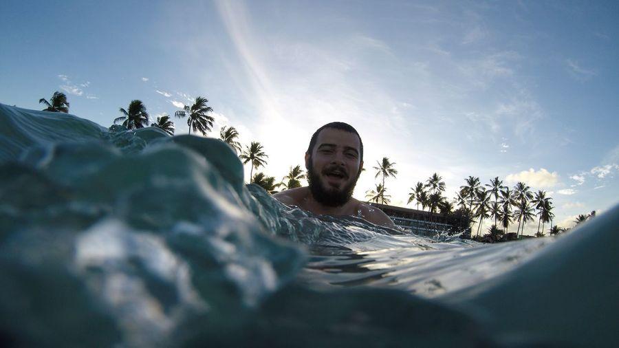 Sea Brazil Galinhas EyeEm Selects Sky Nature Palm Tree