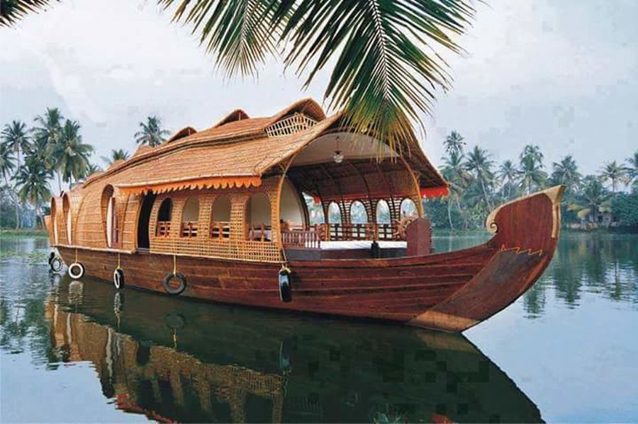 Incredible India House Boat Cool_capture_ Hdrphotography Natural Beauty I Love My India♥