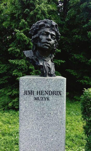 Jimi Hendrix Jimihendrix Musicians Music Is My Life Sculpture