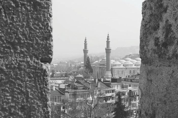 Camii Bursa / Turkey Tophane EyeEm Taking Photos Eyem4photography Black & White