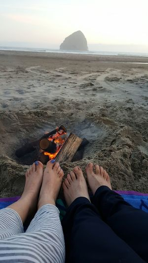 Life is better with little sand in your foot!🌊 Barefoot Exploring New Ground Best Vacation Best View Beach Photography Fire