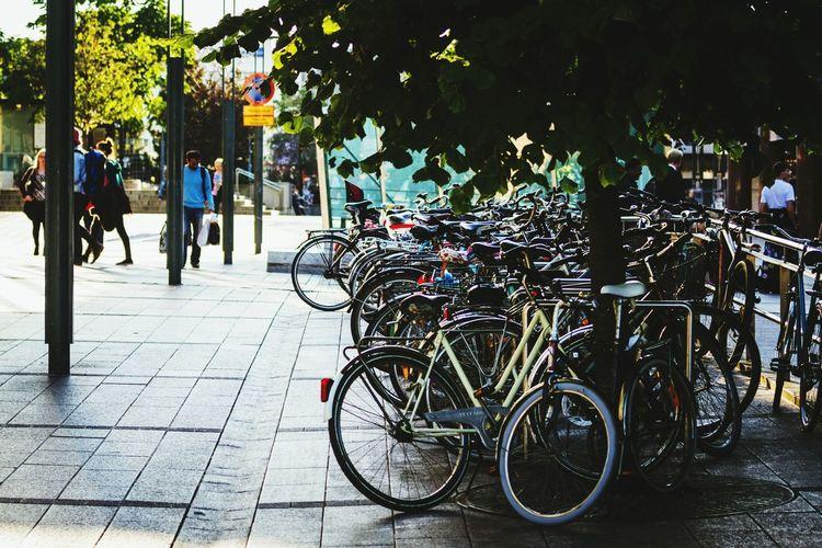 Helsinki Finland Europe Street Photography Bike Streetphotography 70-200mm Travel Evning