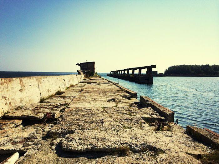 Abandonned Marine Base at Hara Island Exploring