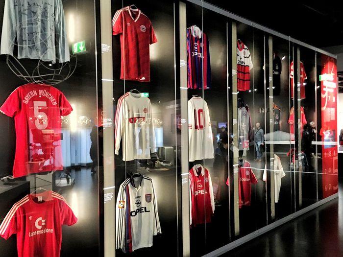 Red BayernMunich Football Visiting Stadium Gapa1516