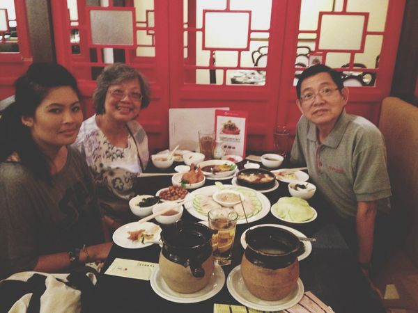 Dinner Family Dad's Birthday