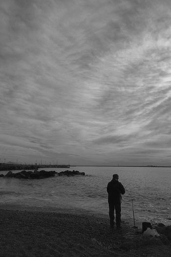 Don't fear the fisherman NEM Clouds NEM Black&white NEM Mood