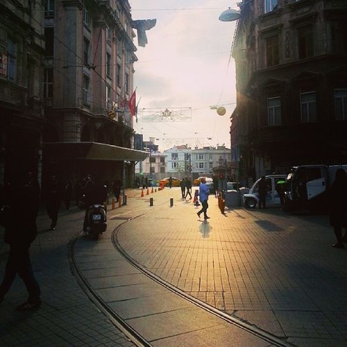 Taksimbeyoglu Istiklalcaddesi Istanbul Sky beyoglu istiklal beautiful taksim old istiklal_caddesi turquois street taksimstreet iphonesia photooftheday taksimsquare istiklalbeyoglu bestoftheday instaview bluesky streetphoto galatakulesi instagood instagramers igaddict taksimquare gf_daily iloveistanbul istanbuldayasam istiklalstreet