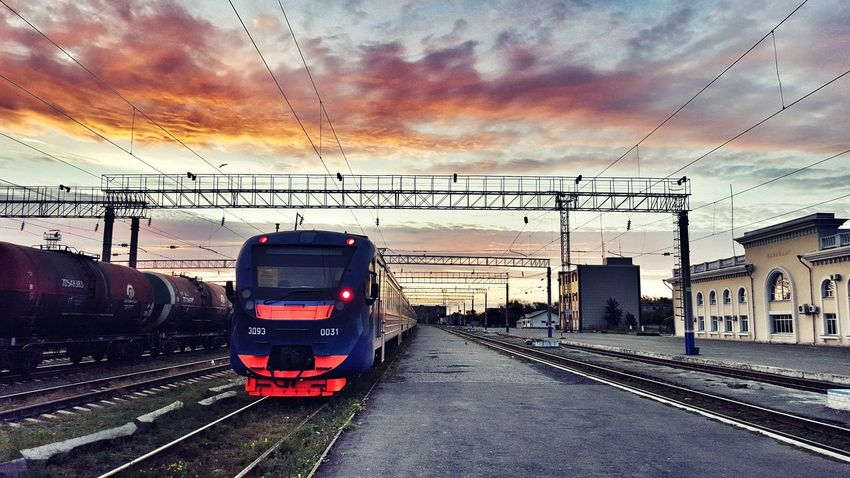 Railways_of_our_world Feel The Journey Fine Art Photography Colour Of Life