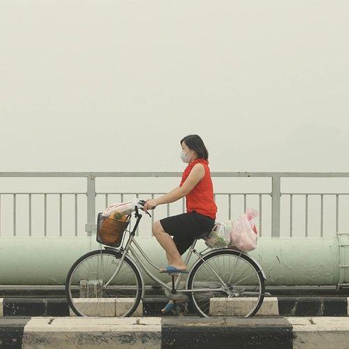 Haze in Muar. Canon Canon_official Haze People malaysia muar airpollution portfolio