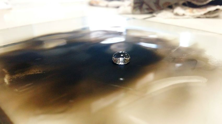 Water Reflection Physics Lesson Hydrophobic Smoke Glass