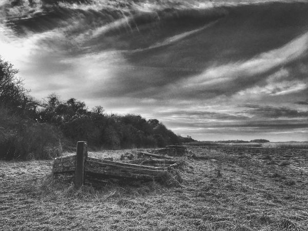 Cold River Severn Shipwreck Purton Hulks River Blackandwhite Winter Sky IPSLandscape