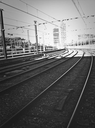 Black & White Railway