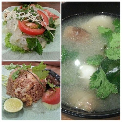 Thai Food for dinner with bf @jyangsaw Sunday Spicymax Thail Night dinner
