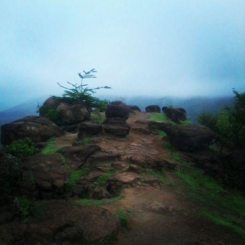 Rocks Mountain 'speak Bluesky Sky Clouds Alonelypath Beautifulway Awaytonature