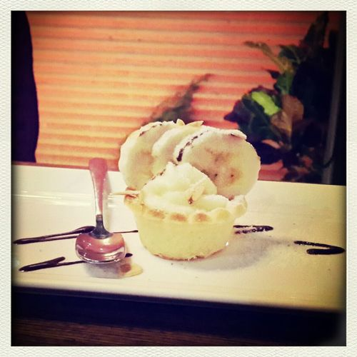 Dessert Custardcreams Banana