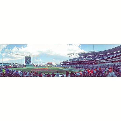|7.24.15.| stadium 8 of 30| Kansascity KansasCityRoyals Royals Royalssocial Instasize