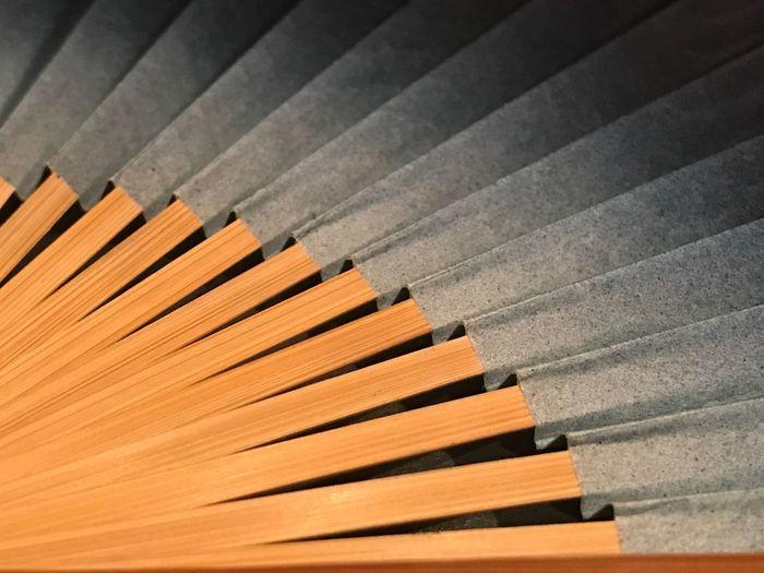 Full frame shot of folding hand fan