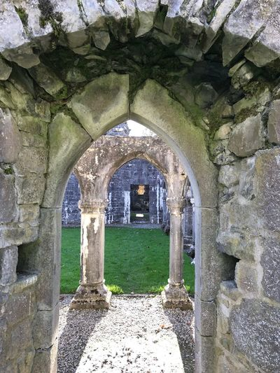 A morning at the Franciscan Abbey! History Place Of Worship Old Ruin Ireland First Eyeem Photo Postcode Postcards