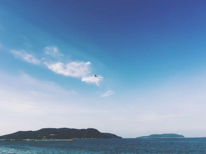 Sky Sea Blue