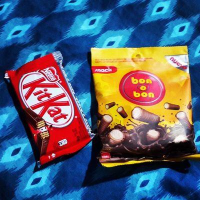 Kitkat Bonobon Snack chocolove 😍 😍 😍 😋