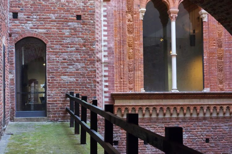 Architecture Built Structure Building Exterior Building History The Past Railing Arch Brick Day Wall Architectural Column Brick Wall Outdoors Travel Destinations Window