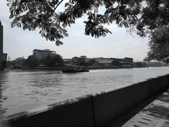 Pasigriver City Landscape Outdoors BargeOnTheRiver Cityscape